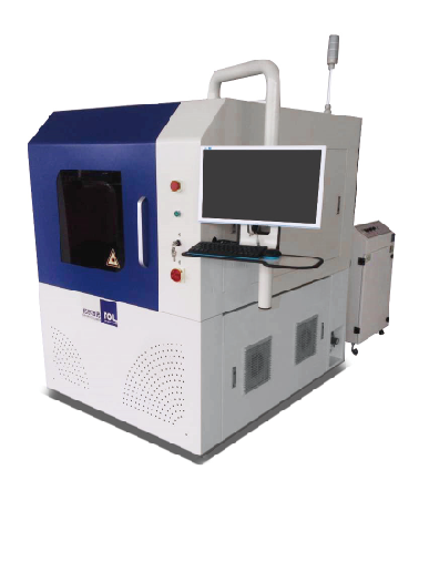 Sapphire wafer laser micromachining system